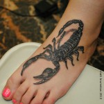tatouage scorpion 3d - wikitattoo.fr