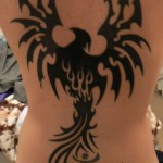 Phoenix tattoo tatouage tribal