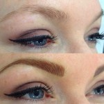 permanent maquillage sourcils tatouage femme
