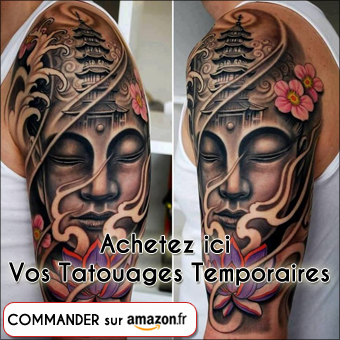 Acheter vos tatouages temporaires